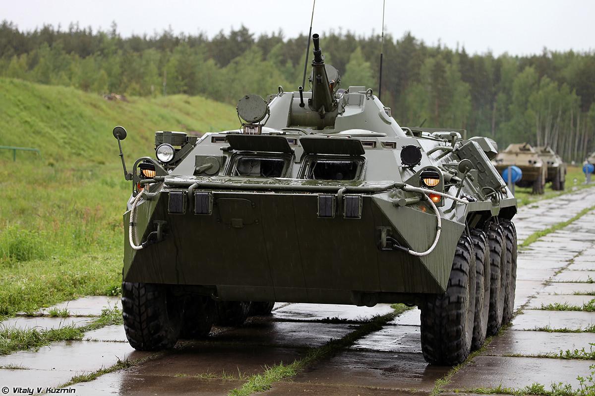 Vozilo za radiacijsko in kemično izvidništvo RHM-4