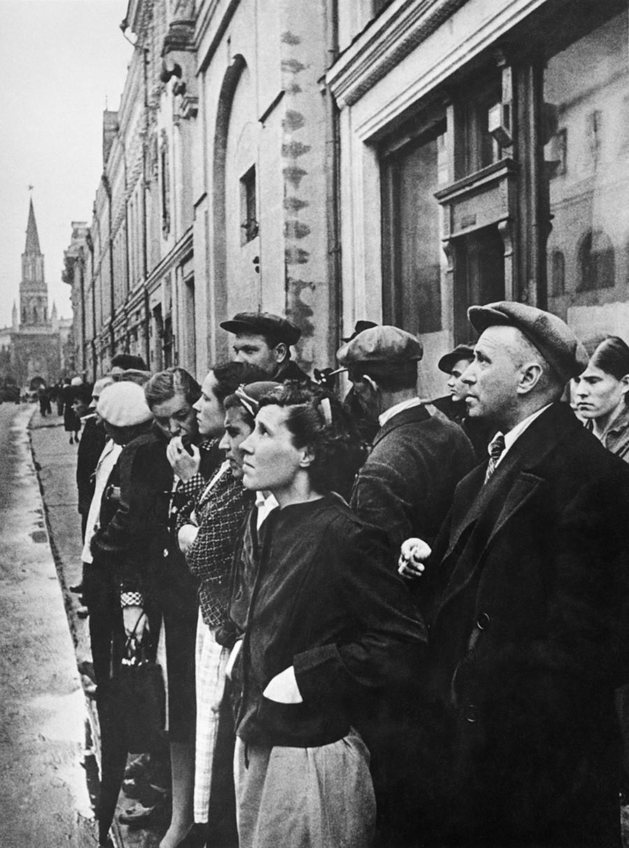Annonce du début de la Grande Guerre patriotique, le 22 juin 1941