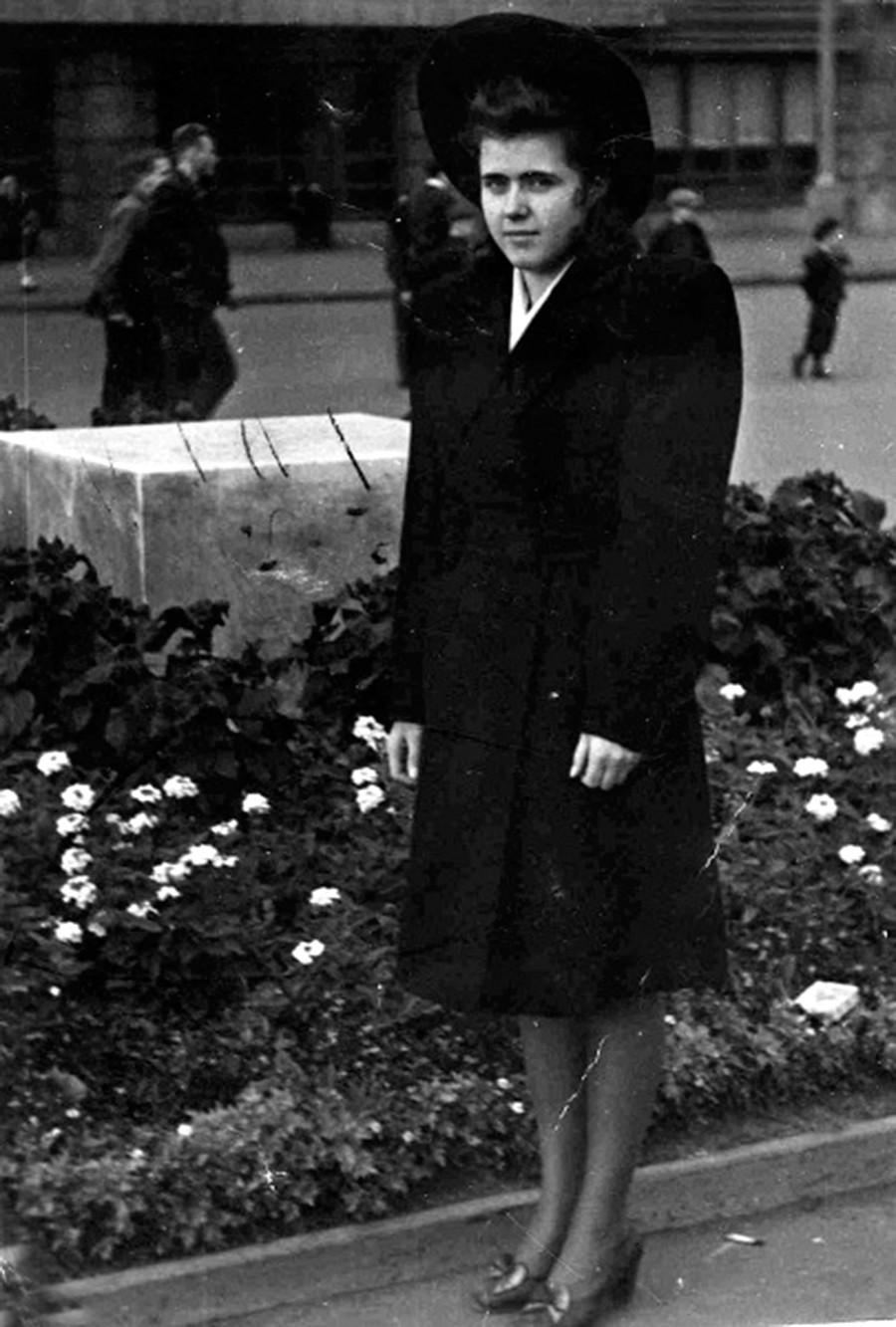 Verteidigerin des belagerten Leningrads nach dem Krieg