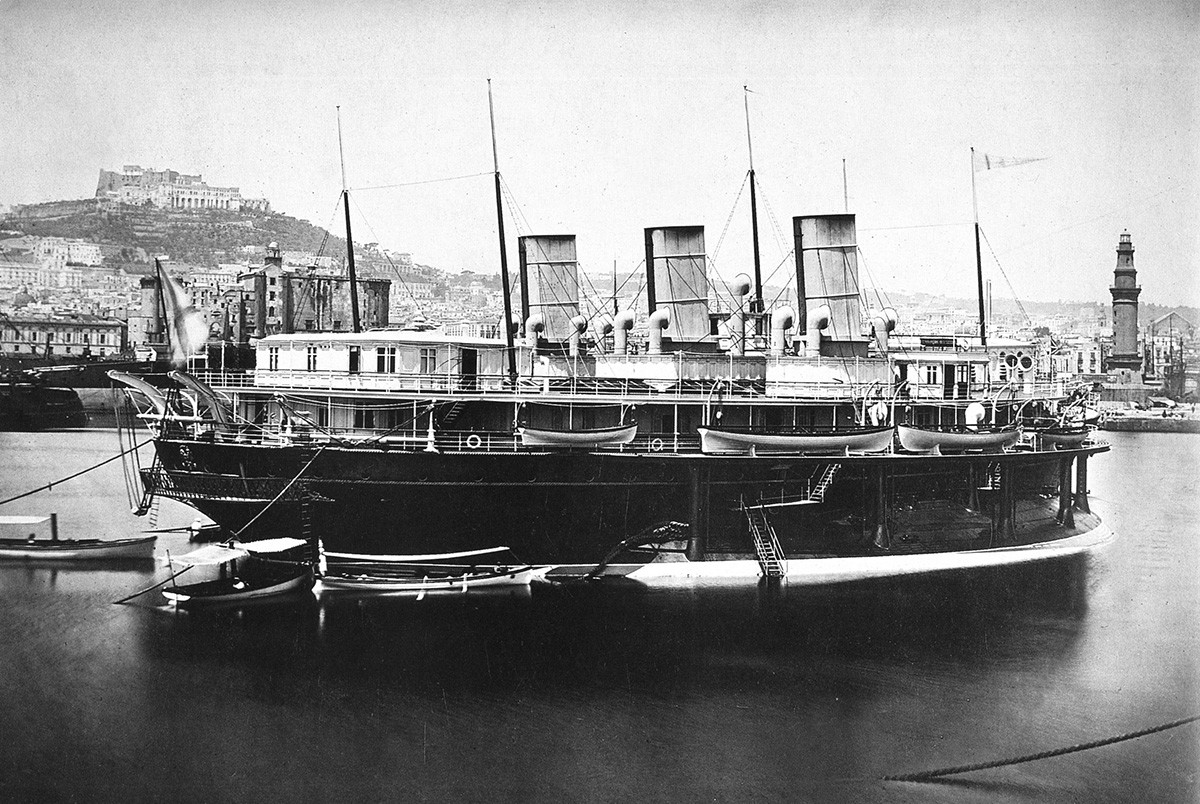 Imperial Russian yacht Livadiia.
