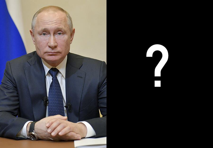 Vladimir Putin e... quem quer que seja o próximo, não pode ter cabelo rastafári!