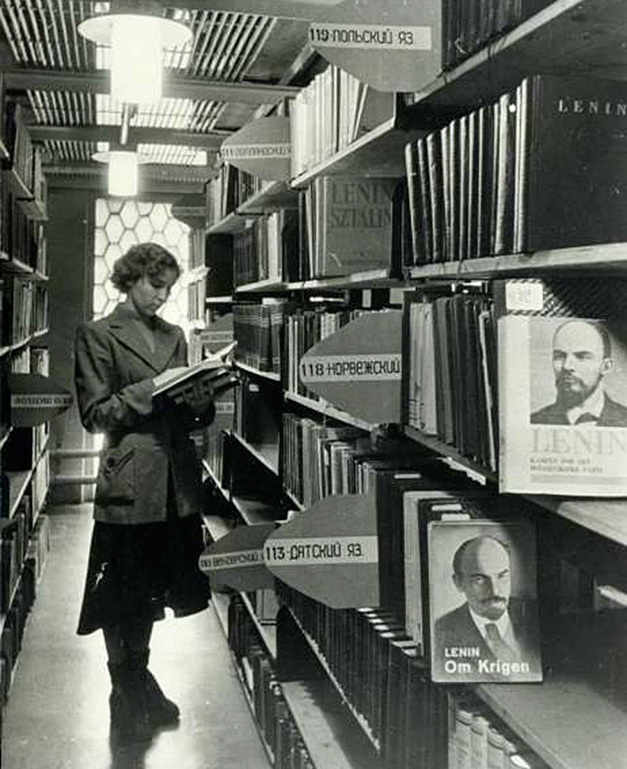 « Il n'existe pas de langue, n'ayant pas fait l'objet d'une traduction des œuvres immortelles de Vladimir Lénine »