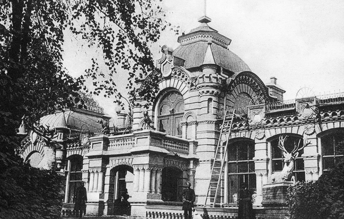 Grand Duke Nikolay Konstantinovich's palace in Tashkent, Russian Empire, beginning of the XX century