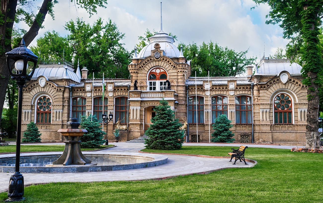 The same palace in Tashkent now.