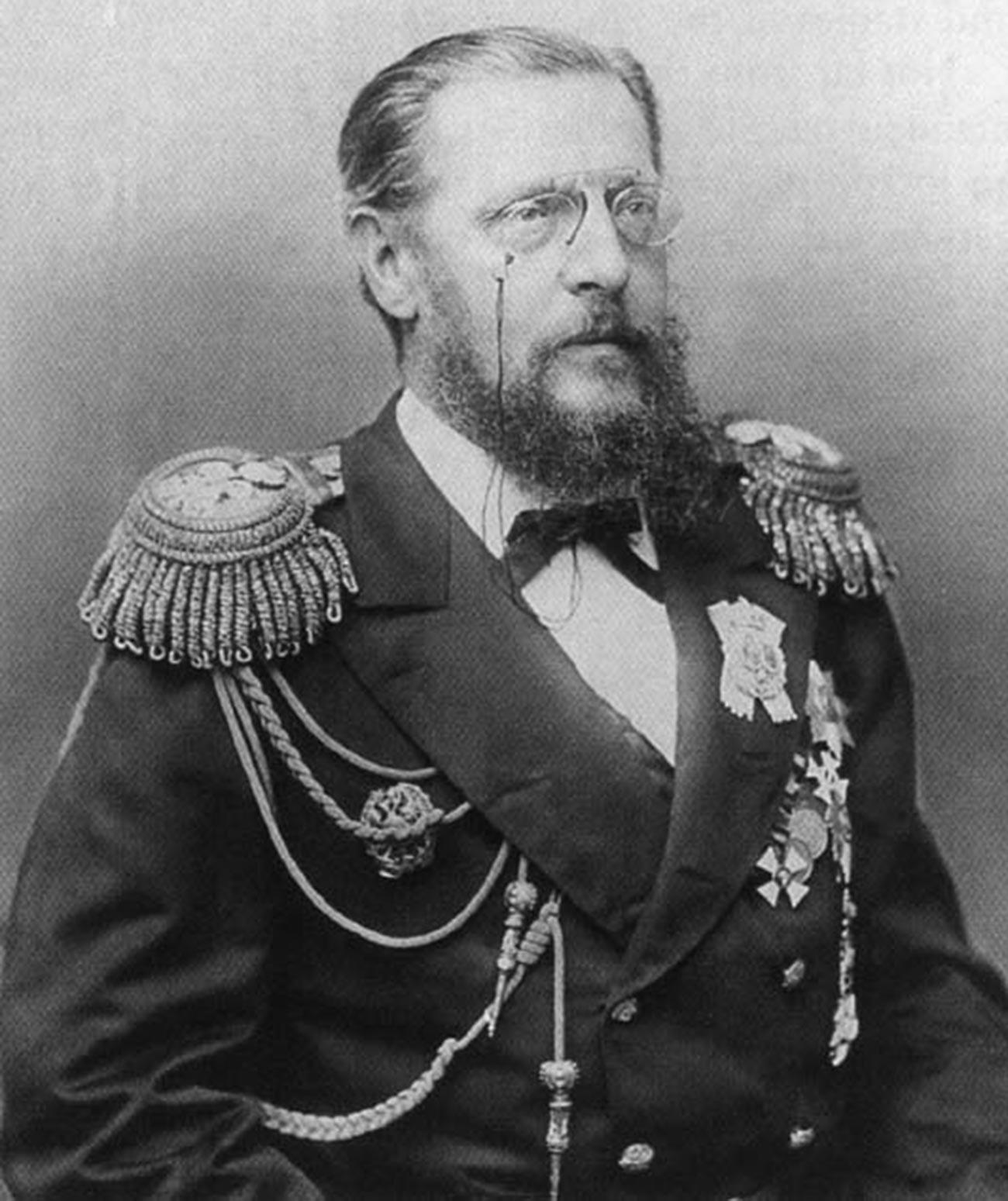 Grand Duke Konstantin Nikolaevich, Nicholas's father