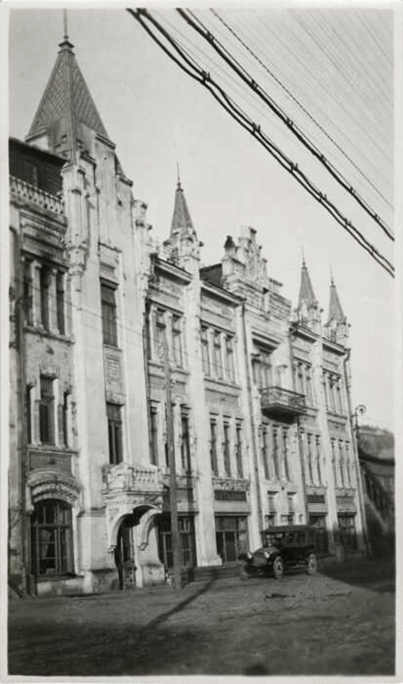 ウラジオストクのプーシキン劇場