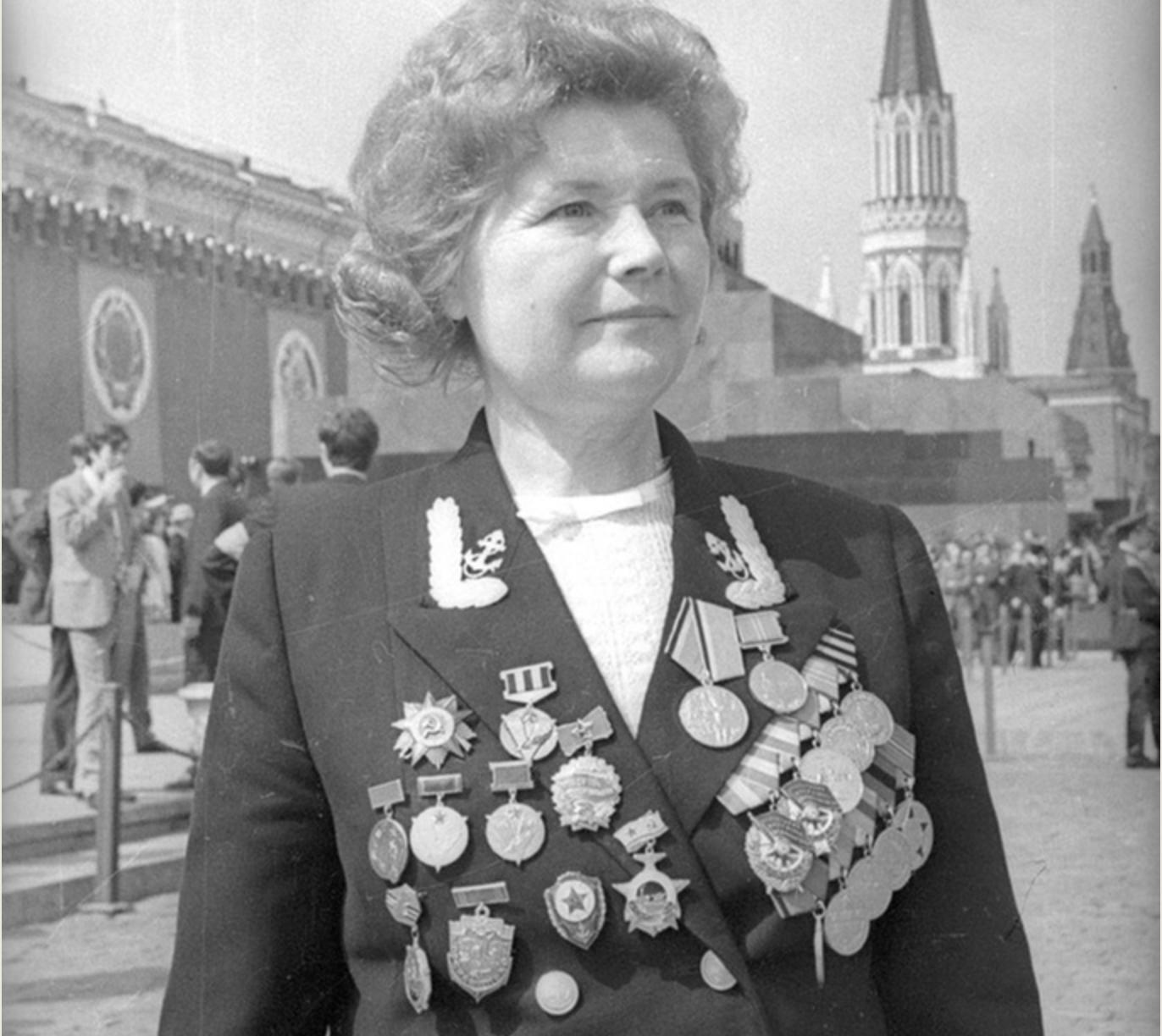 Герой на Съветския съюз Екатерина Дьомина