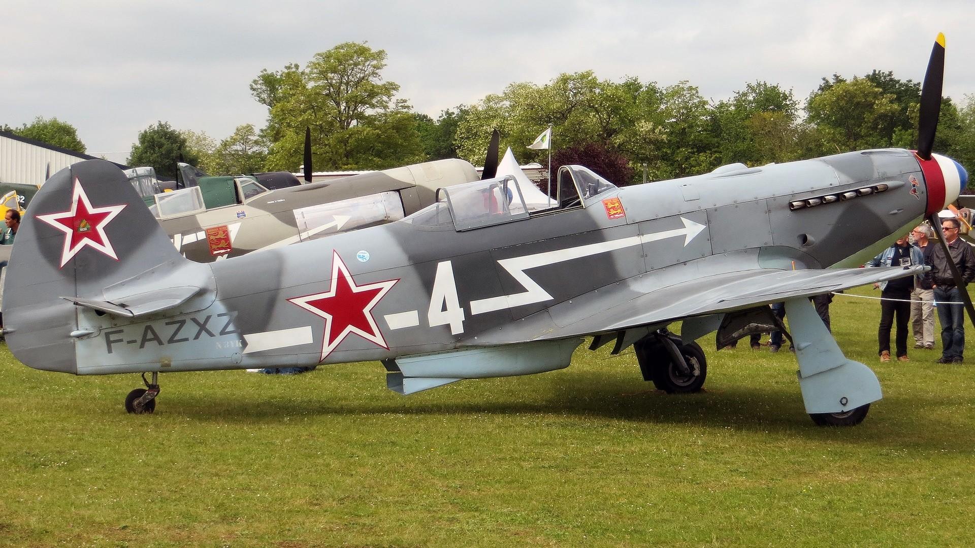 Un Yak-3 du Normandie-Niemen