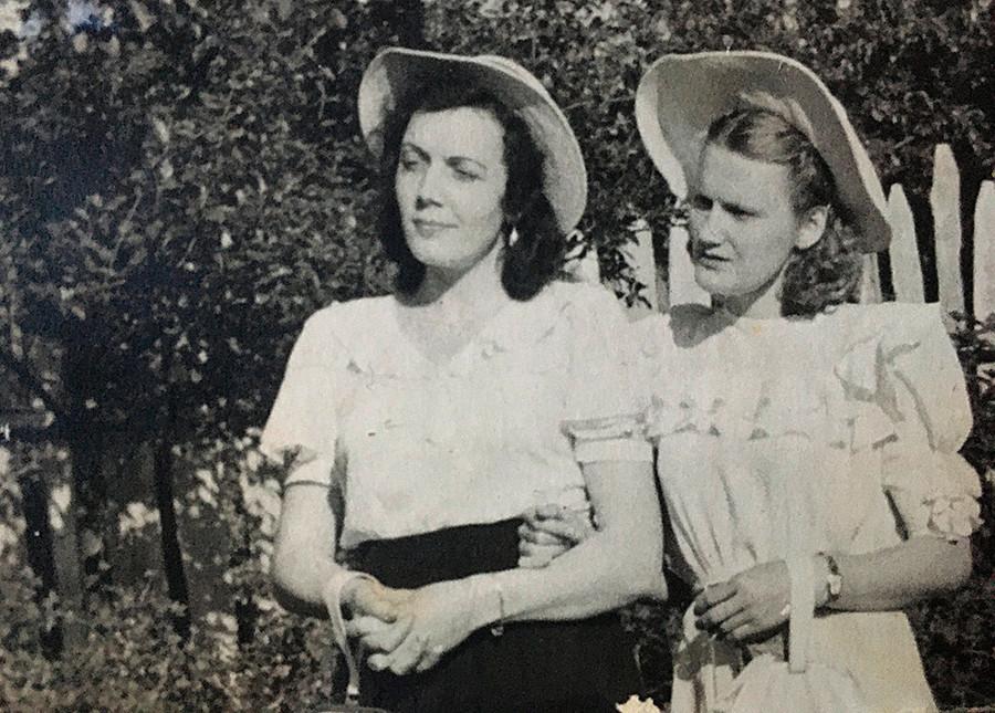 Young doctors in a garden