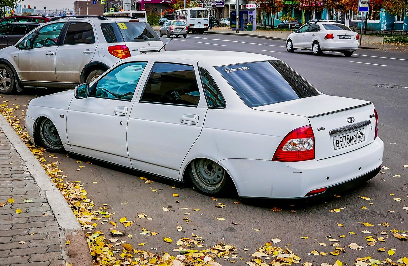 A pimped Lada Priora has become an unspoken symbol of Russia's south and the Caucasus.