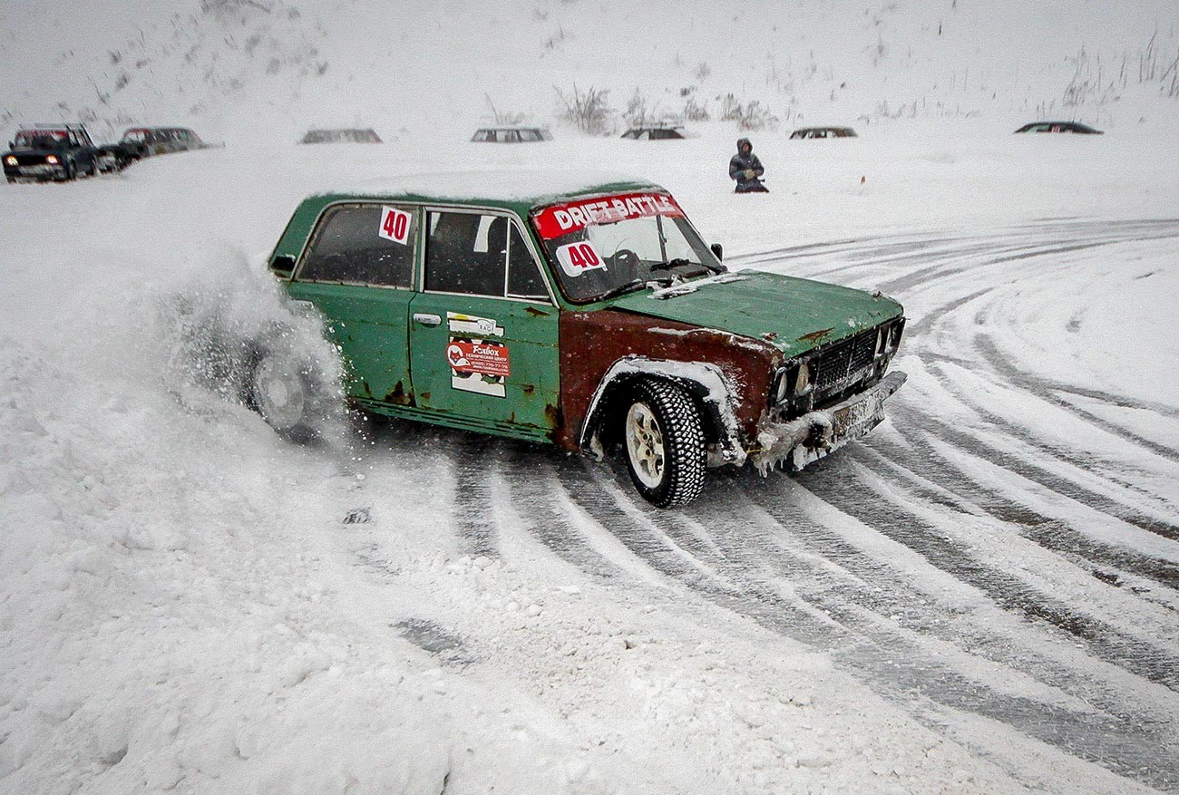 It's possible to buy an old Lada for just a few hundred U.S. dollars.