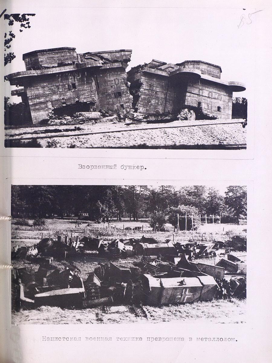 Bunker dinamitado.