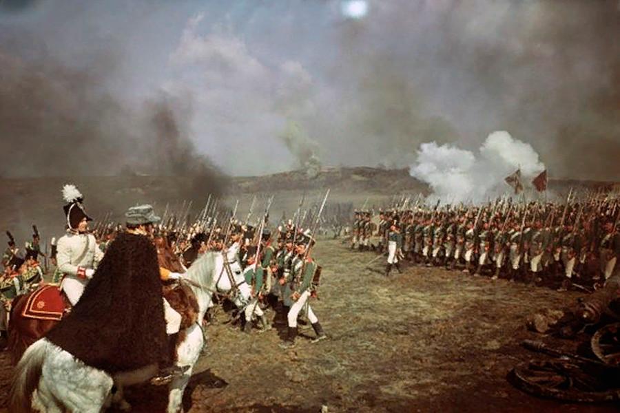 Imagen de la película 'Guerra y paz'.
