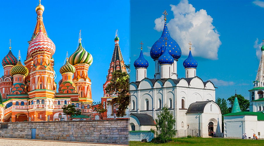 Moscow/Suzdal