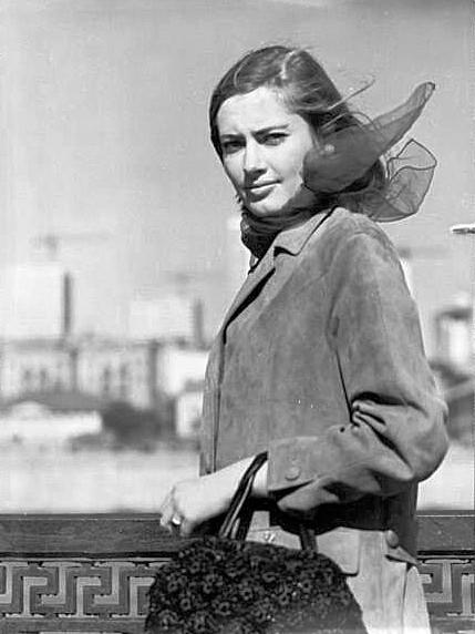 L'actrice Viktoria Fiodorova