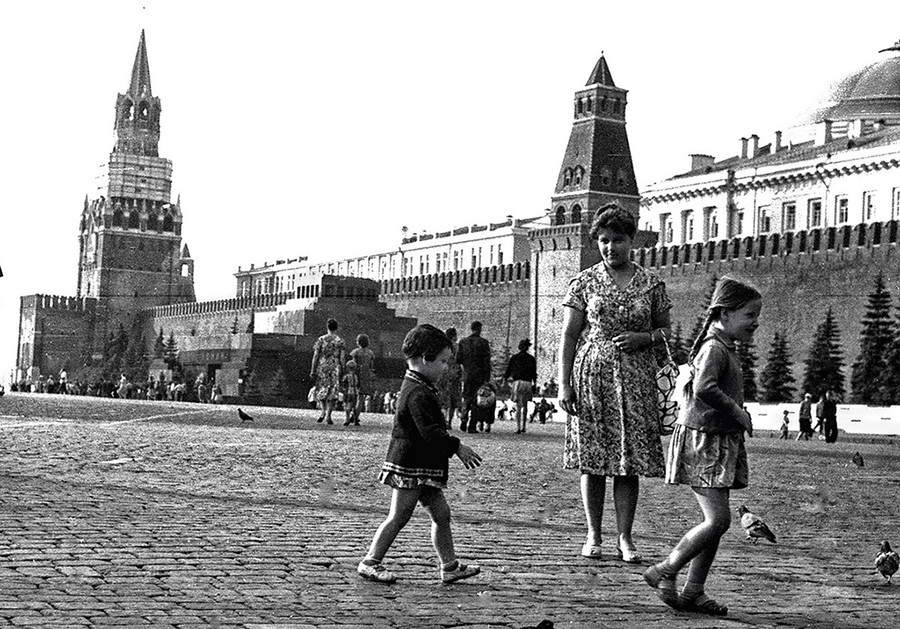 Children on Red Square
