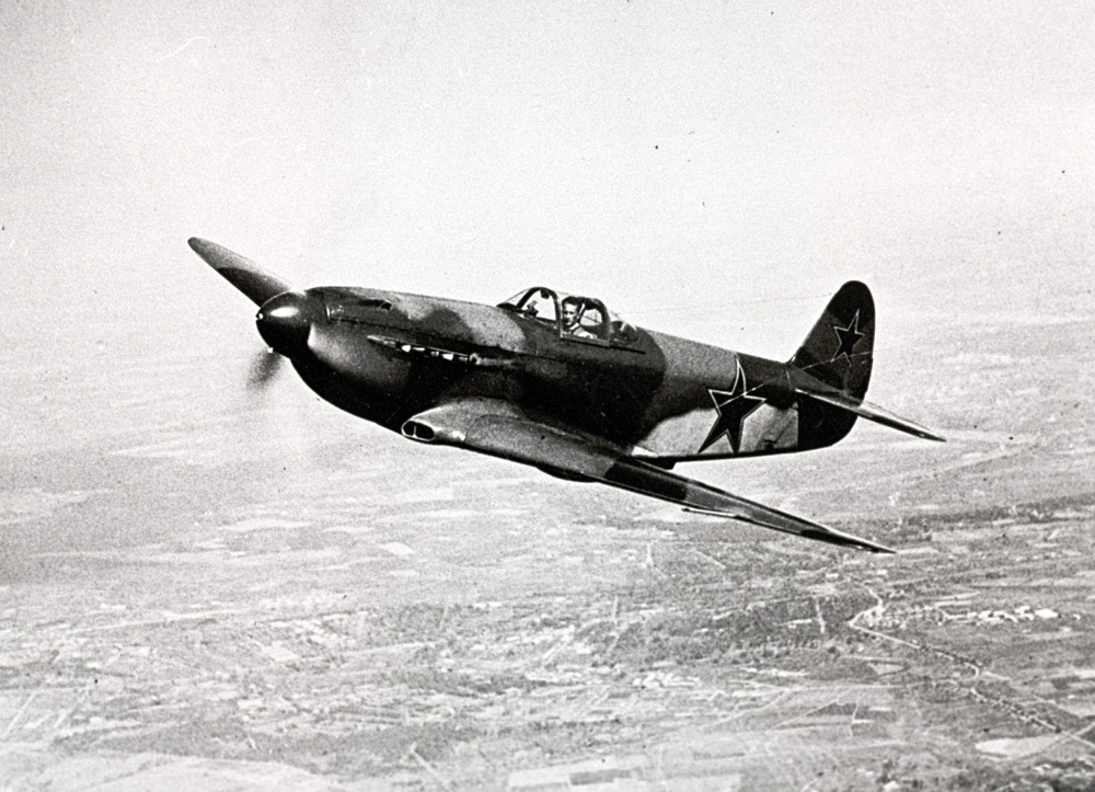Yak-3 se igualava aos caças alemães em termo de velocidade.