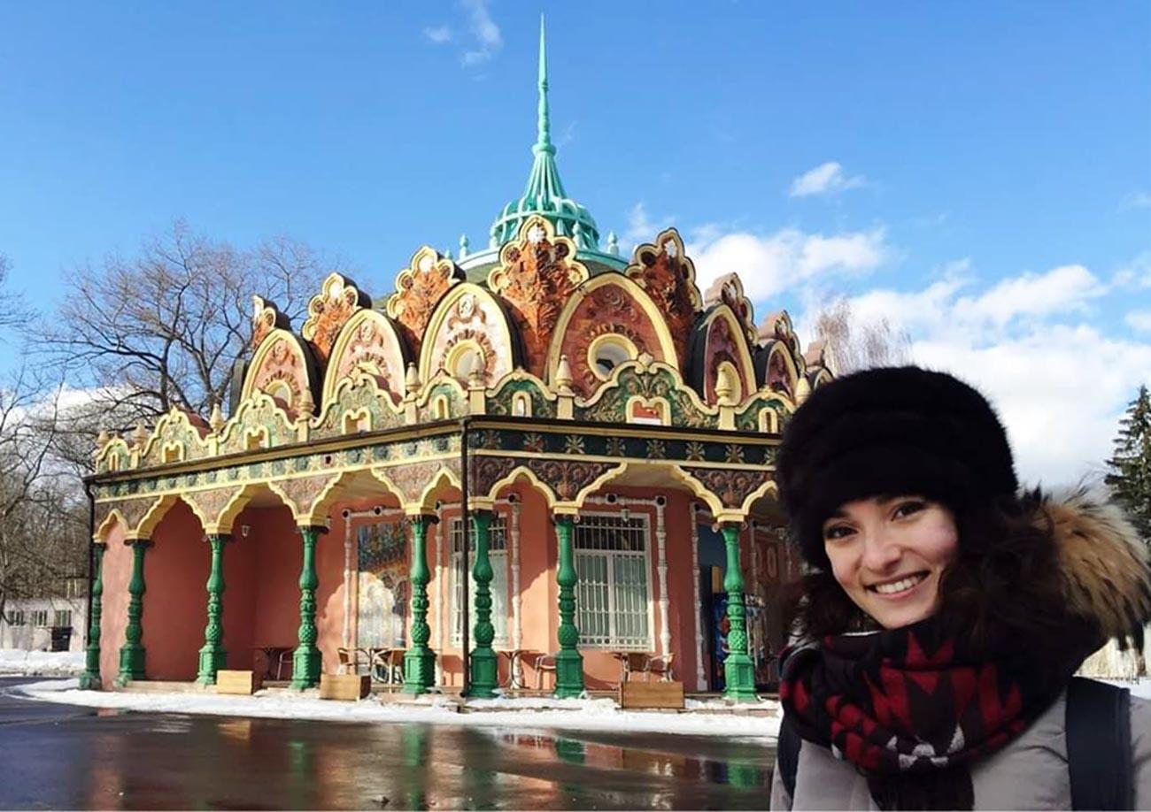 Marta al Parco VdnKh di Mosca