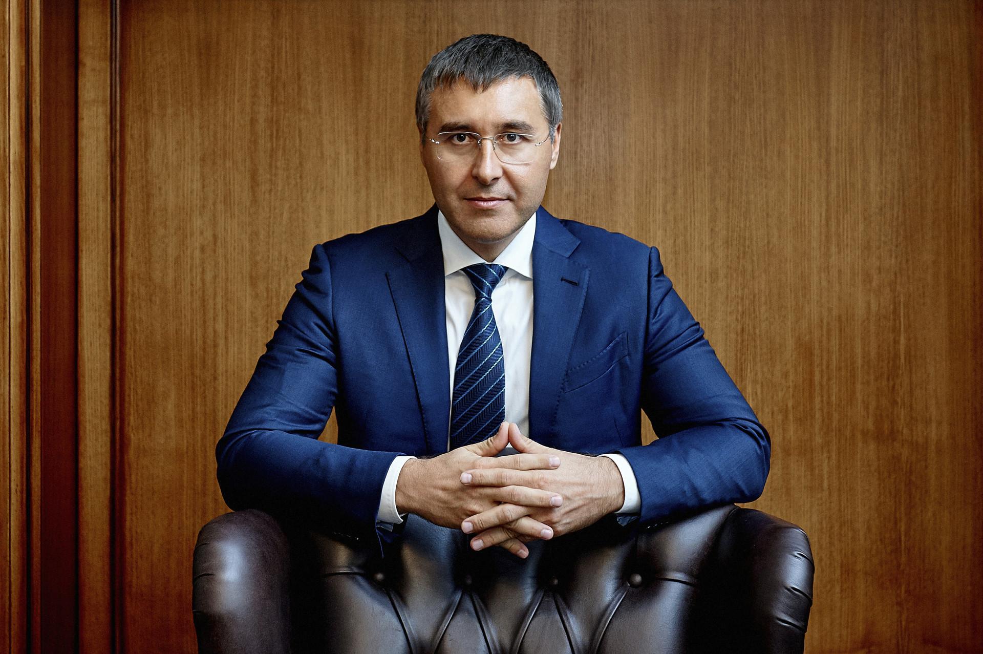 Menteri Sains dan Pendidikan Tinggi Valery Falkov.