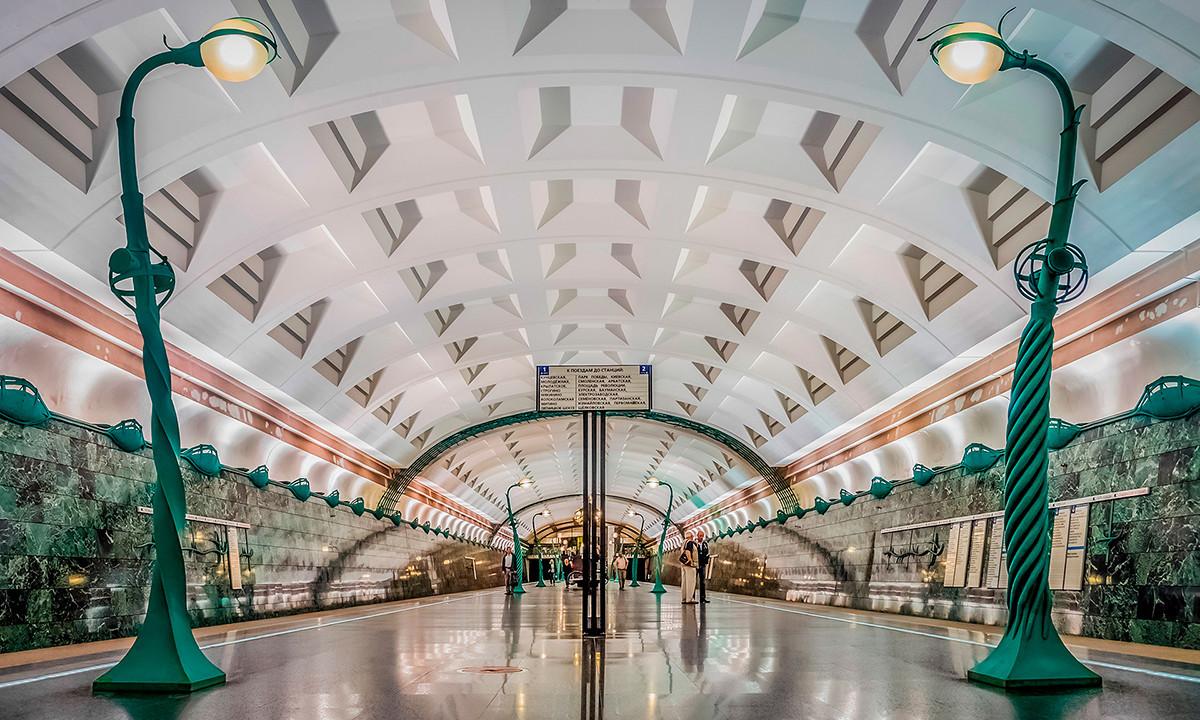 "Станицата ""Славјански буљвар"" на московското метро"