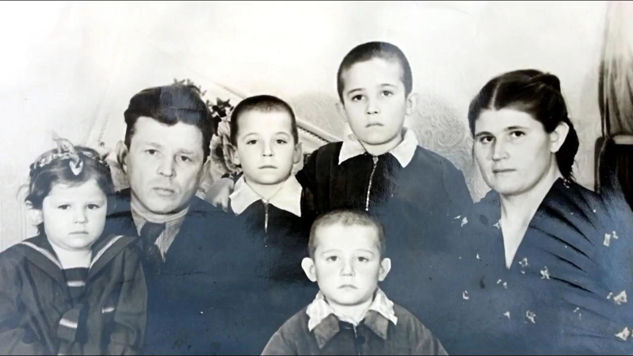La famiglia De Battistis e Anatolij Tarassenko