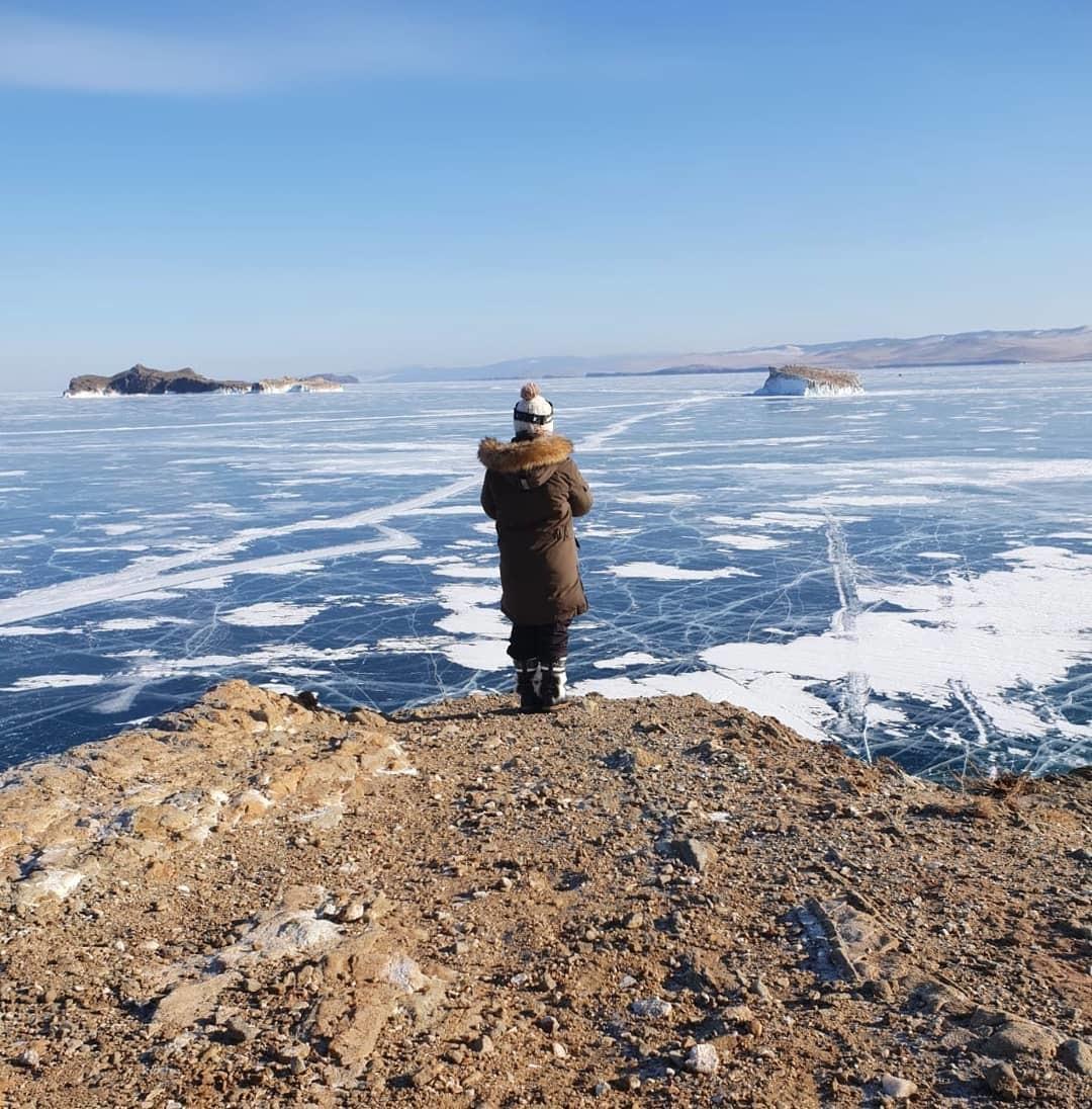 Le Baikal en février