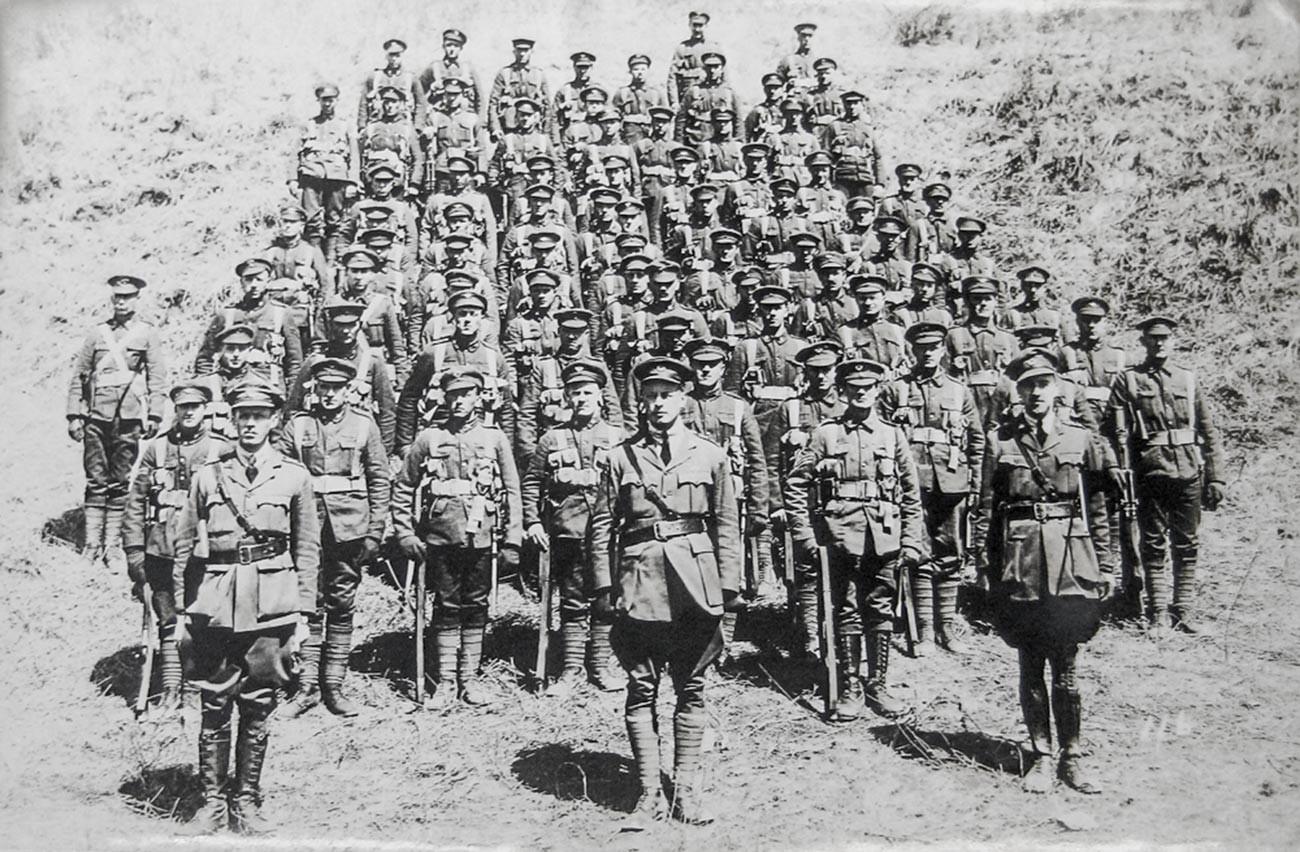 Kanadische Truppen in Wladiwostok