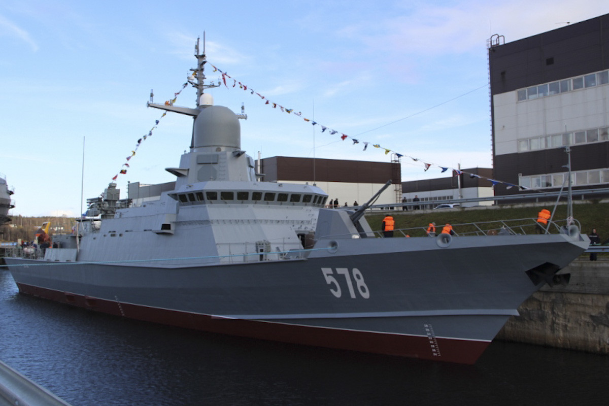 Mali raketni brod klase 22800