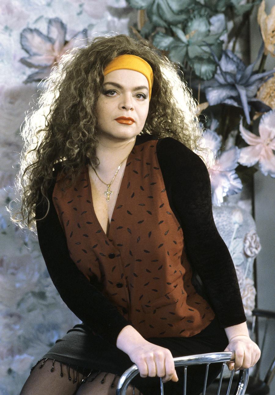 Поп-певицата Лариса Долина.