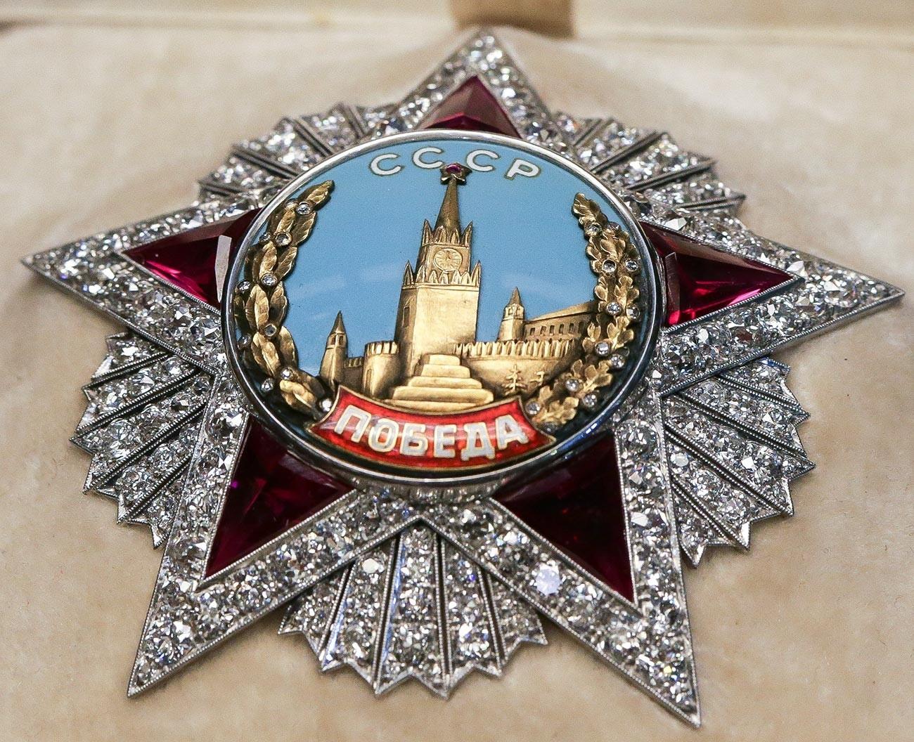Ordem da Vitória, a condecoração militar mais valiosa do mundo