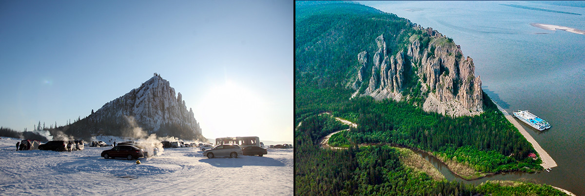 Spring and summer in Yakutia.