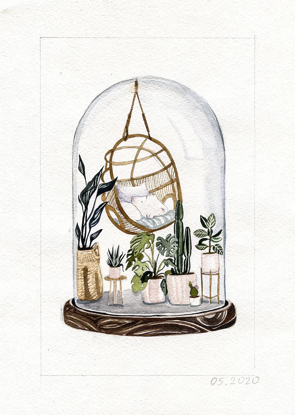 "De la serie ""Mi jardín"""