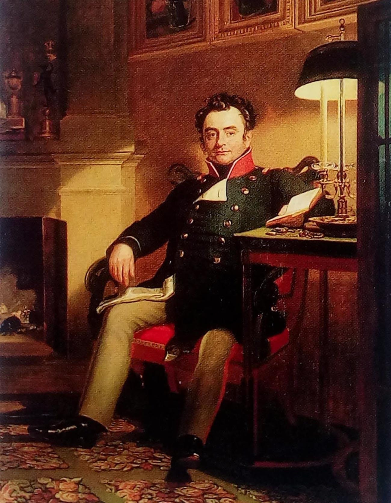 Джордж Доу. Портрет графа П. А. Шувалова.
