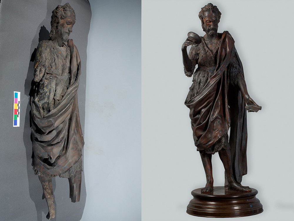 Donatello (environ 1386-1466), Jean le Baptiste / Florence, 1425-30