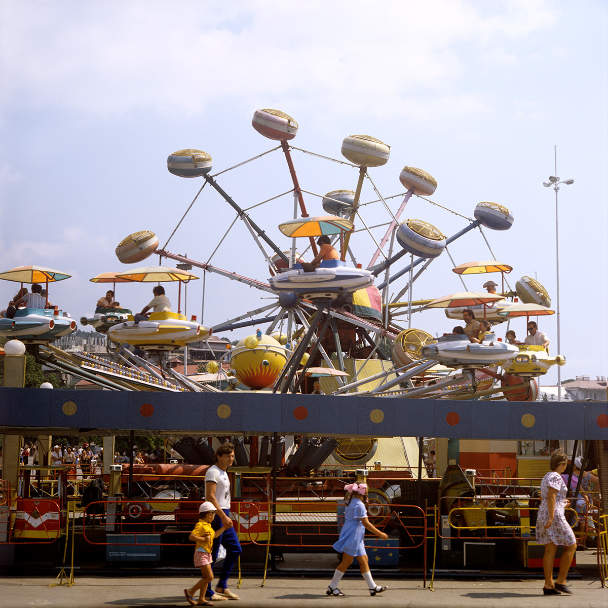 ヤルタの遊園地、1981年