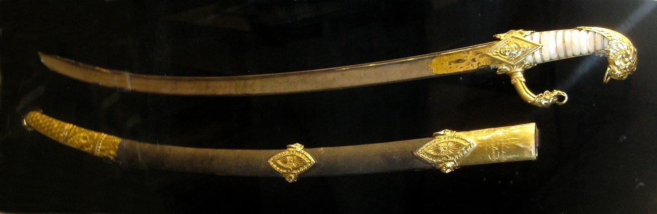 Napoleon's sabre.