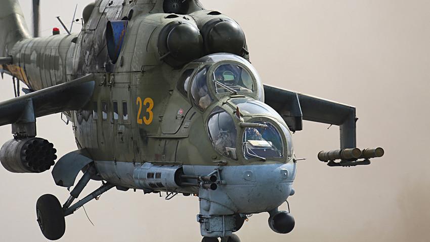 Ми-24/Снимката е илюстративна