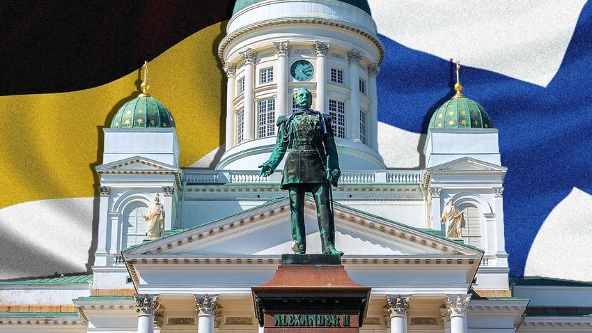 Споменик руском императору Александру II у Хелсинкију