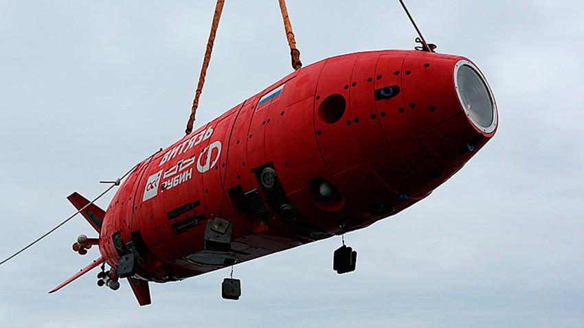 """Аутономни роботизовани подводни апарат """"Витјаз-Д"""""""