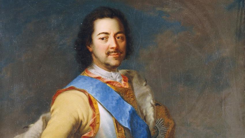 Руският цар Петър Велики (1672-1725).