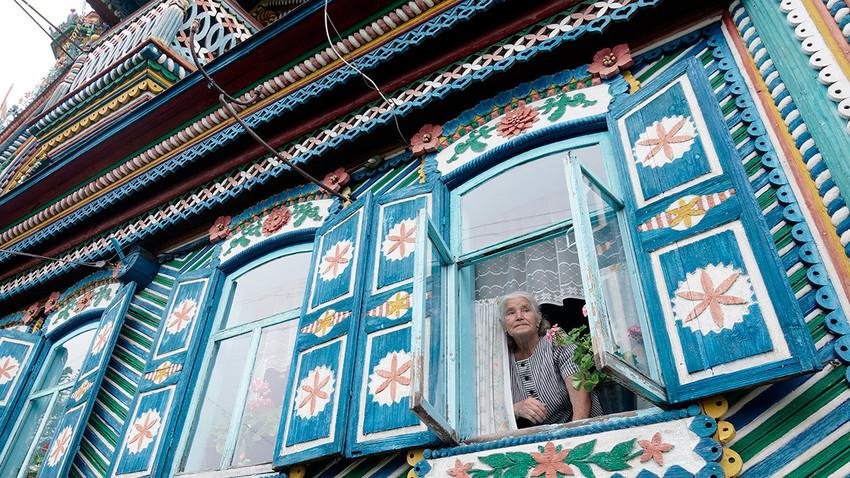 鍛冶屋のセルゲイ・キリロフの家