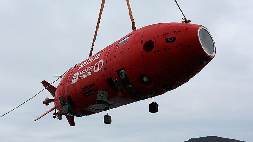 """Автономна роботизиран подводен апарат """"Витјаз-Д"""""""