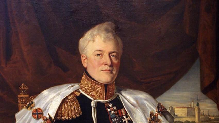 Портрет на кнезот Д.В. Голицин.