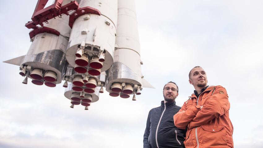 Dmitrij Pjalov (a sinistra) e Anton Mikhajlov