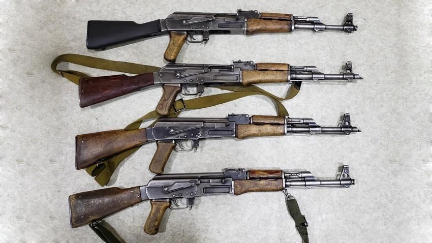 Como identificar um Kalashnikov originalmente fabricado na Rússia de um falso