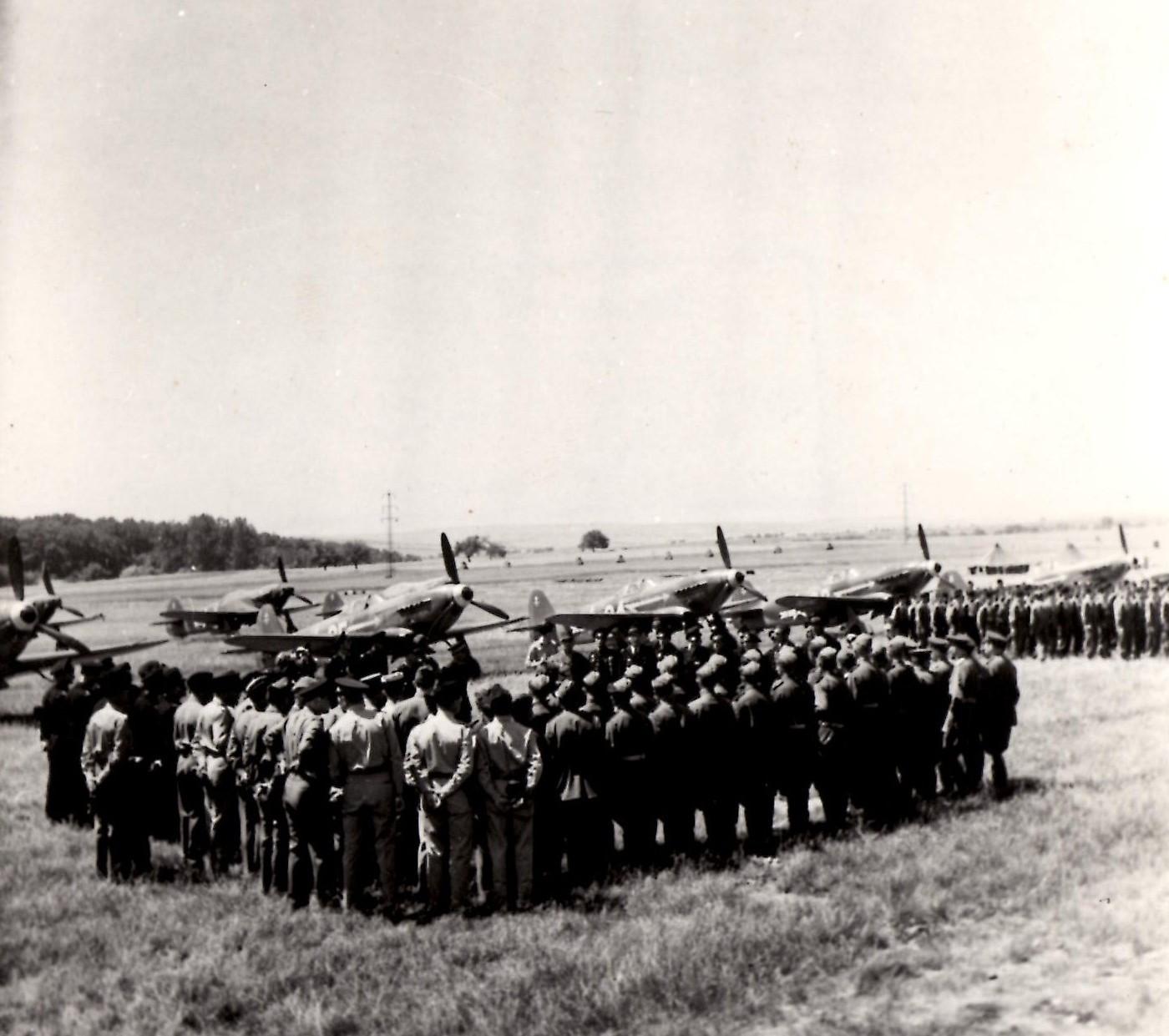 Normandie-Niémen à Saint-Dizier, le 20 juin 1945