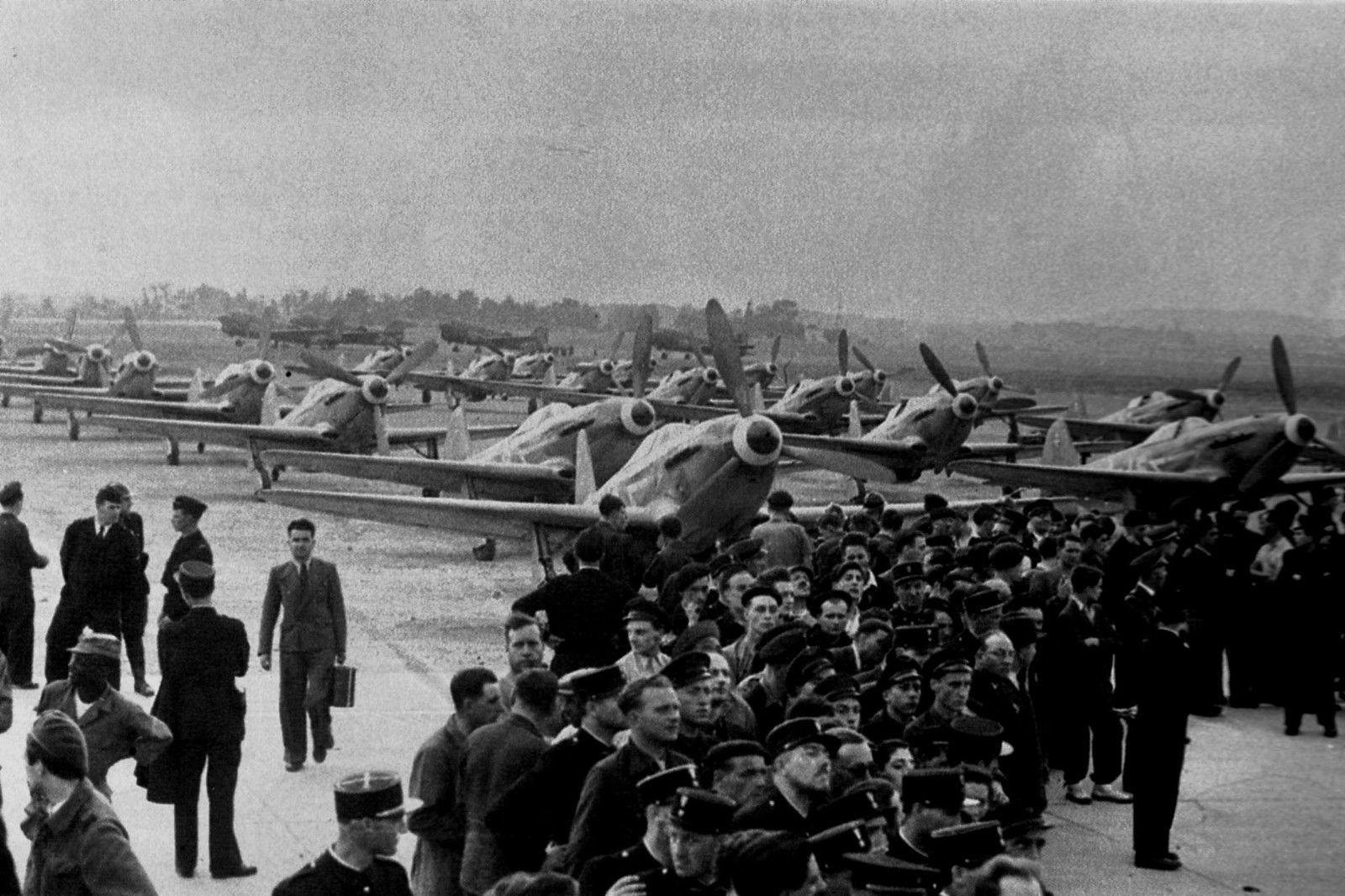 Le Bourget, le 20 juin 1945