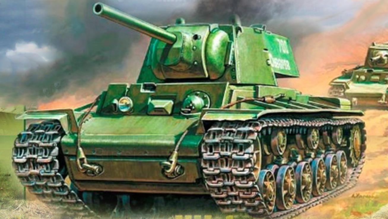 Советски тежок тенк КВ-1