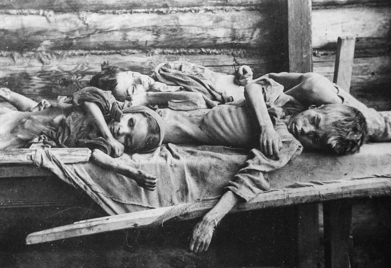 Kelaparan di Samara.