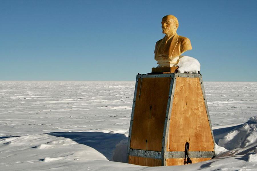 Lenin en el Polo Sur